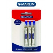 Marlin Pencil Leads 0.5mm - Blister of 3 Tubes,