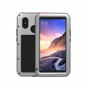 LOVE MEI Shockproof Dropproof Dustproof Shell Case for Xiaomi Mi Max 3 - Silver