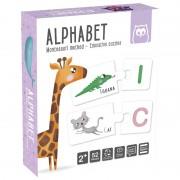Montessori, Învăţarea alfabetului și animalelor în engleză