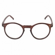 Flynn Round Style Clear Sunglasses for Men Boys and Girls