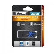 Patriot Memory 64GB Supersonic Boost XT unità flash USB 3.0 (3.1 Gen 1) Connettore USB di tipo A Nero