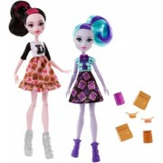 Monster High School Spirit Draculaura si Twyla FGD25