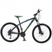 Bicicleta Benotto FS-900 Alum R27.5 27V Shi Altus Fnos DDH Negro Talla:S-M