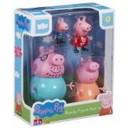 Figuras Familia Peppa Pig - Bandai