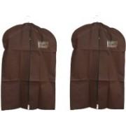 PRAHAN INTERNATIONAL Men's Coat Blazar Cover Bag Suit cover Pack of2 PIS-C2B008(Coffee)