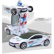 Robot to Car Converting Transformer Toy for Kids