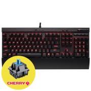 Corsair Gaming K70 LUX Геймърска механична клавиатура с Cherry MX Blue суичове