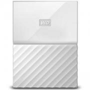 Твърд диск HDD 1TB USB 3.0 MyPassport, Бял, WDBYNN0010BWT