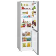 Combina frigorifica Liebherr CUel 3331, 296 L, SmartFrost, Control mecanic, 2 sertare legume, Raft sticle, H 181.2 cm, A++, Argintiu