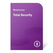 Bitdefender Total Security – 1 година За 5 устройства, електронен сертификат