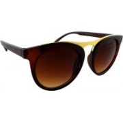 ELS Clubmaster Sunglasses(Brown)