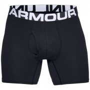 Under Armour Charged Cotton 6 Inch 3-Pack Boxerjocks - XXL - Black