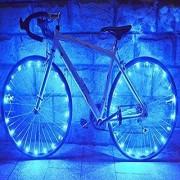 Futaba Bicycle Wheel 20 Led Wheel Spoke Light 2.2M String Wire - Blue
