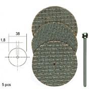 Discuri Aluminiu-Oxid D38 mm (5 buc)