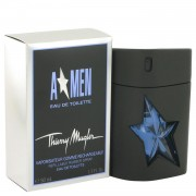 ANGEL by Thierry Mugler Eau De Toilette Spray Refillable (Rubber Flask) 1.7 oz