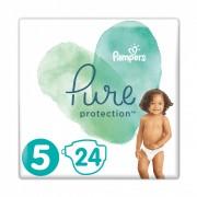 Pampers Pure Protection pelenka, Junior 5, 11 kg+, 24 db