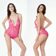 Peluches Mujer Ver A Través De Teddies-Rose