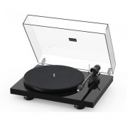 Project Debut Carb Evo Gls Blk turntable w.Sumiko Rainier