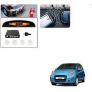 Auto Addict Car White Reverse Parking Sensor With LED Display For Maruti Suzuki A-Star