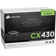 Fonte ATX Corsair CX430 430W Reais 80 Plus bronze CPU 4+4 pinos | EPS 12V V2.3 | Box CP-9020046-WW 1332