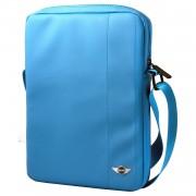 Mini Cooper You Me Mini Tablet Bag - дизайнерска чанта с презрамка таблети до 8 инча (светлосин)