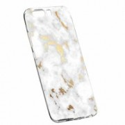 Husa Silicon Transparent Slim Marble 136 Huawei HONOR 9