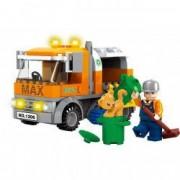 Set tip Lego Masina Gunoi Figurina Gunoier