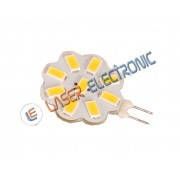 LAMPADINA LED G4 12V 9xSMD5630 4.5W BIANCO NATURALE 4500K