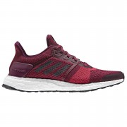 adidas Women's Ultra Boost ST Running Shoes - Red - US 7.5/UK 6 - Red