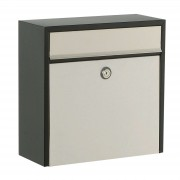 Pretty letterbox 2500, cylinder lock