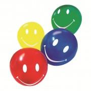 Baloane, diverse culori, 10 buc/set, HERLITZ Smiley