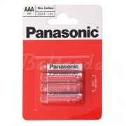 Philips 4 x bateria cynkowo-węglowa Panasonic R03 AAA (blister)