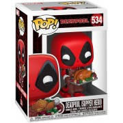 Marvel FUNKO POP Vinylfigur! - Marvel Deadpool (Supper Funko Pop Vinylfigur-multicolor - Offizieller & Lizenzierter Fanartikel - Offizieller & Lizenzierter Fanartikel