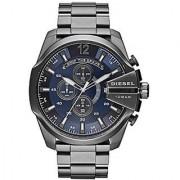 Diesel Fall 2014 Dz4329 51Mm Black Steel Bracelet &Amp; Case Mineral Mens Watch