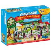Set Playmobil Calendar de Craciun, Ferma calutilor