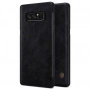 Flip Case Nillkin Qin para Samsung Galaxy Note 8 - Preto