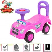 Baybee Push-On Baby Ride On Push Car for Toddlers Baby car Toy Children Rider & Kids Ride On Push Car-Baby Riders for Kids 1-3 Years ( Pink )
