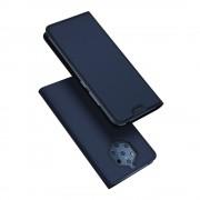 DUX DUCIS Skin Pro Könyvtartó típus tok Nokia 9 PureView kék tok telefontok hátlap