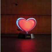 Nintendo Zelda Heart Container 3D Lampa