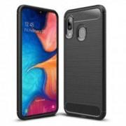 Carcasa TECH-PROTECT TPUCARBON Samsung Galaxy A20e 2019 Black