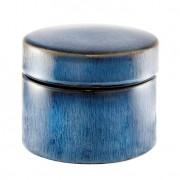 Caixa Redonda Ocean 9 cm Azul