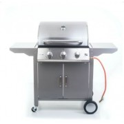 Grillsütő, Oklahoma BBQ Premium line, gázüzemű, 3 égőfejes, 6390310