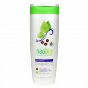 Neobio Volumen Sampon bio Koffeinnel és bio Nyírfa kivonattal, 250 ml