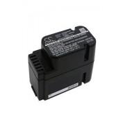 Worx Landroid M1000i WG796E.1 battery (2500 mAh, Black)