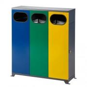 Beltéri szelektív hulladéktároló