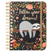 Follow your dreams, B5 heti beosztású spirálos tervező naptár, PlanAll 3.0