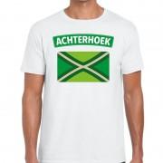 Bellatio Decorations Achterhoek en vlag festival t-shirt wit heren