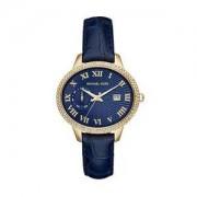 Michael Kors Relógio Analógico Em Couro - MK2429-4AN - Azul Escur