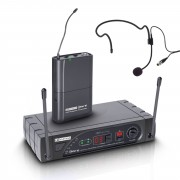 LD-Systems ECO 16 Headset System mit Beltpack, 863 - 865 MHz