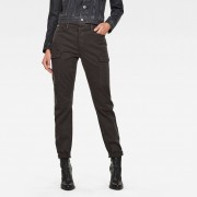 G-star RAW Femmes Pantalon Blossite G-shape Army High Skinny Gris